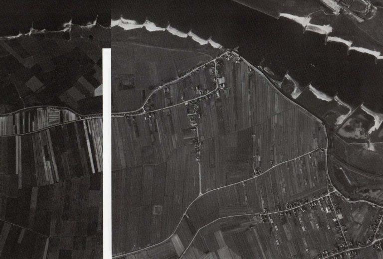 Luchtfoto Nieuwaal 1960